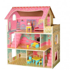 Деревянный домик для кукол Bambi MD 2203