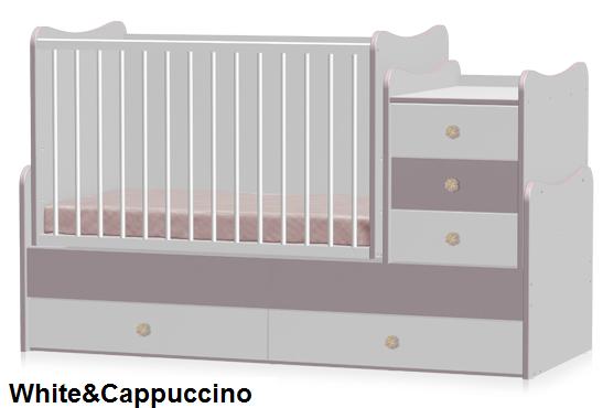 Кроватка Bertoni MAXI PLUS уценка (без коробки)