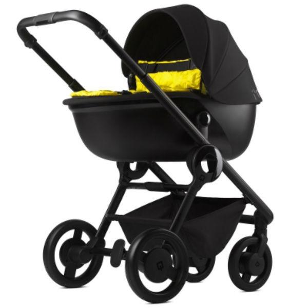 Универсальная коляска 2 в 1 Anex Quant Flame/yellow (Qn03)