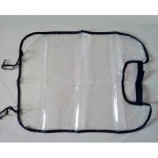 Защитный чехол на спинку переднего сиденья авто (прозрачный)