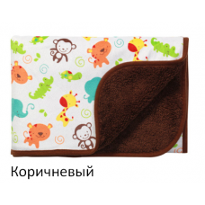 Одеяльце двухстороннее BabyOno Микрофибра 75х100 см 1408