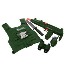 Игровой набор спасатель военный Bambi F012-S012-M012