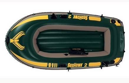 Лодка Intex Seahawk 2 68346