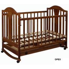Кроватка Laska-M Наполеон NEW без ящика