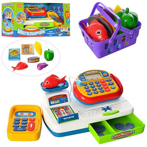 Игровой набор Кассовый аппарат Limo Toy 7019 UA
