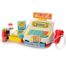 Кассовый аппарат Bambi с продуктами и тележкой 35563A