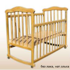 Кроватка Laska-M Славянка Эко без ящика