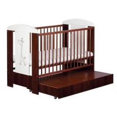 Кроватка с ящиком Klups Safari Zyrafka