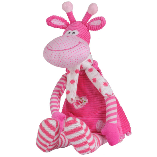 Мягкая игрушка BabyOno Розовый жираф 53 см 1194