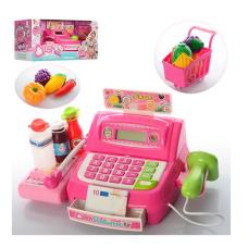 Кассовый аппарат Bambi с продуктами и тележкой (35563B)