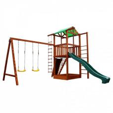 Детский домик с горкой для дачи Sportbaby Babyland-6