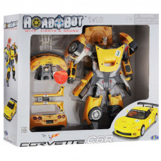 Робот-трансформер Roadbot Chevrolet Corvette C6R 1:18 50150