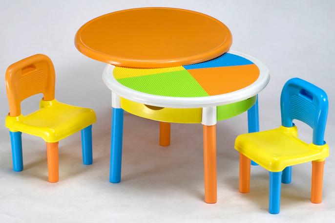 Комплект Tega круглый стол и 2 стула MT-002