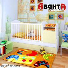 Детская кроватка-трансформер Аванта LIGHT