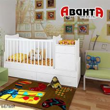 Детская кроватка-трансформер Аванта CLASSIC
