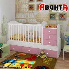 Детская кроватка-трансформер Аванта DREAM