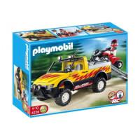 Игровой набор Playmobil Пикап и квадроцикл (4228)