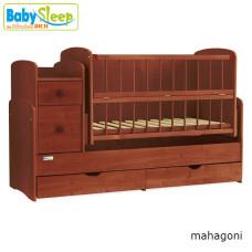Кроватка трансформер Baby Sleep  Angela (DTP-S-B)
