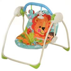 Кресло-качели Bambi M 3243 Сафари