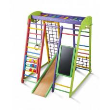 Детский спортивный комплекс для квартиры SportBaby Акварелька