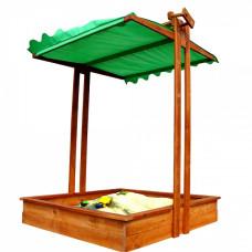 Песочница деревянная с крышкой Sportbaby 5