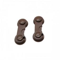 Крючок для створчатых дверей 3М (т.коричневый)