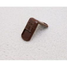 Угловой блокиратор (кнопка) PRO 3М (3М-015) (коричневый)