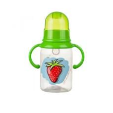 Бутылочка с ручками 125 мл. Akuku A0012 green