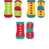 Носки махровые (3 пары) 6+ BabyOno 581/01