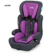 Автокресло Bambi (9-36кг) M 4250 ISOFIX (purple)