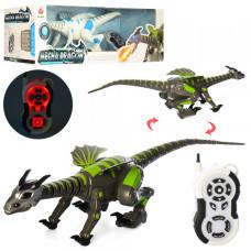 Робот динозавр на р/у Bambi 28303 (grey)