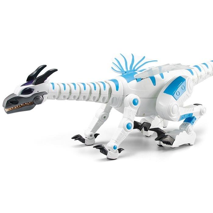 Робот динозавр на р/у Bambi 28303 (white)