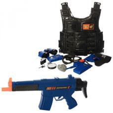 Игровой набор полицейский Bambi 8635-36