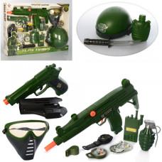 Игровой набор военный Limo Toy M015A