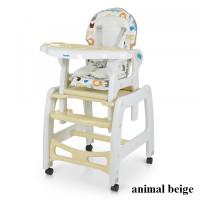 Стульчик для кормления Bambi M 1563 (animal beige)