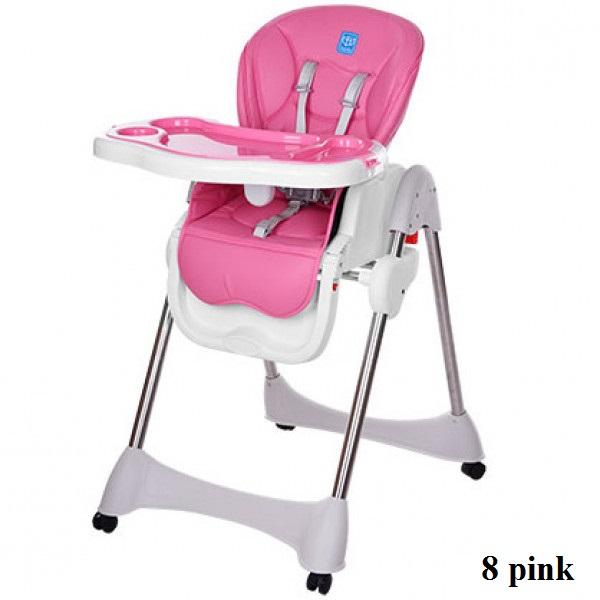 Стульчик для кормления Bambi M 3216-2-8 (pink)