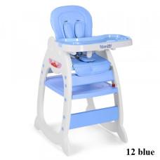 Стульчик для кормления 2в1 Bambi M 3612-12 (blue)