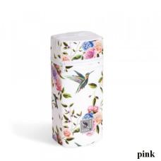 Термоконтейнер для широкой бутылочки Ceba baby Flora/Fauna pink