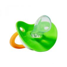 Пустышка силиконовая ортодонтическая Dydus SG 81 3+ green