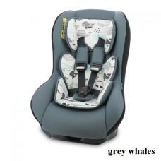 Автокресло Lorelli BETA PLUS (0-18кг) (grey whales)