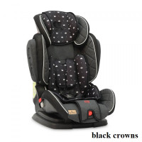 Автокресло Lorelli MAGIC PREMIUM (9-36кг) (black crowns)