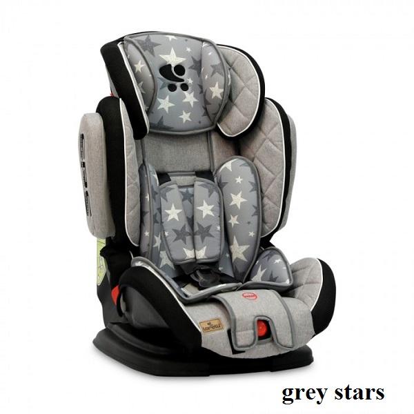 Автокресло Lorelli MAGIC PREMIUM (9-36кг) (grey stars)