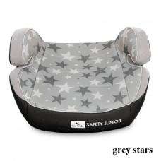 Автокресло Lorelli SAFETY JUNIOR Fix (15-36кг) (grey stars)