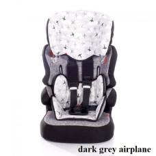 Автокресло Lorelli X-DRIVE+ (9-36кг) (dark grey airplane)