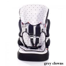 Автокресло Lorelli X-DRIVE+ (9-36кг) (grey clowns)