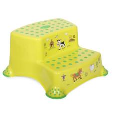 Детская ступенька двойная Lorelli FUNNY FARM (green meadow)