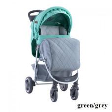 Коляска Lorelli DAISY SET с автокреслом (green/grey)