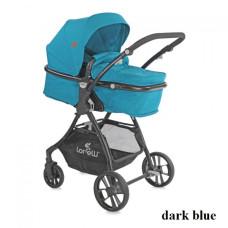 Коляска-трансформер Lorelli STARLIGHT SET с автокреслом (dark blue)