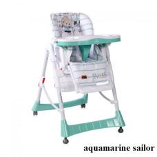 Стульчик для кормления Lorelli GUSTO (aquamarine sailor)