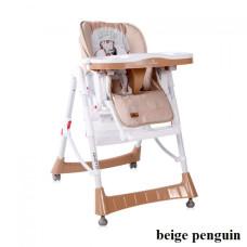 Стульчик для кормления Lorelli GUSTO (beige penguin)
